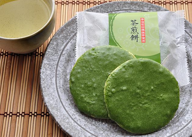 茶煎餅(ちゃせんべい)
