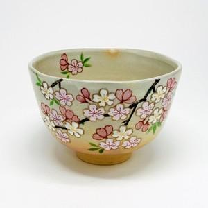 桜小花 【抹茶椀・清水焼】
