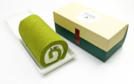 茶游堂抹茶ロールケーキ (ロングサイズ)