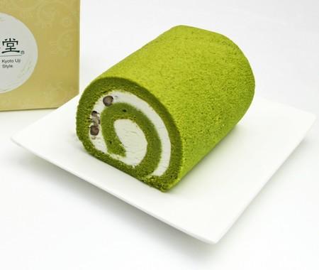 茶游堂抹茶ロールケーキ (ハーフサイズ)