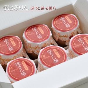 宇治ぷりん【ほうじ茶・6個入】