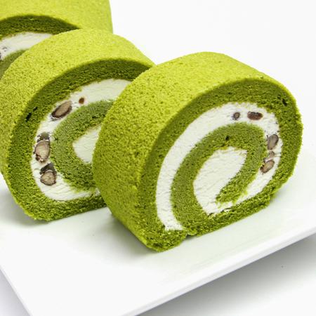 茶游堂抹茶ロールケーキ