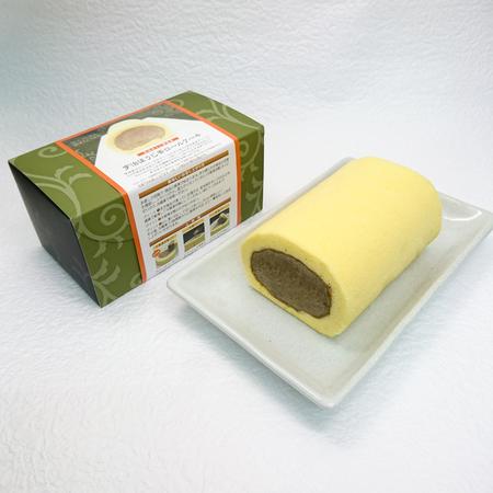 宇治ほうじ茶ロールケーキ
