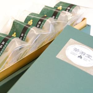 抹茶チーズケーキ 5個入り(化粧箱入)