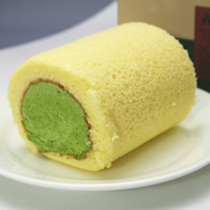 濃茶ロールケーキ【ハーフサイズ】